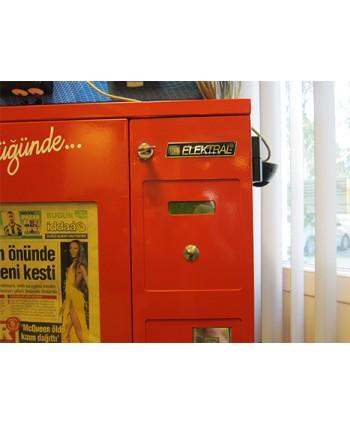 Gazete Satış Otomatı Makinesi