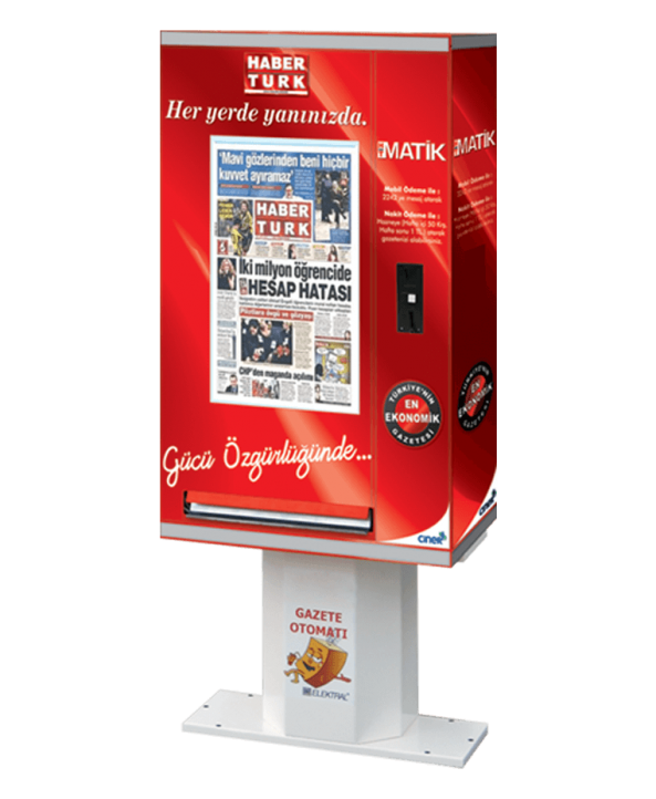 Gazete Satış Otomatı