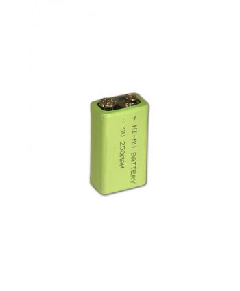 El Tipi Metal Dedektör Bataryası - 9 Volt Şarj Edilebilir