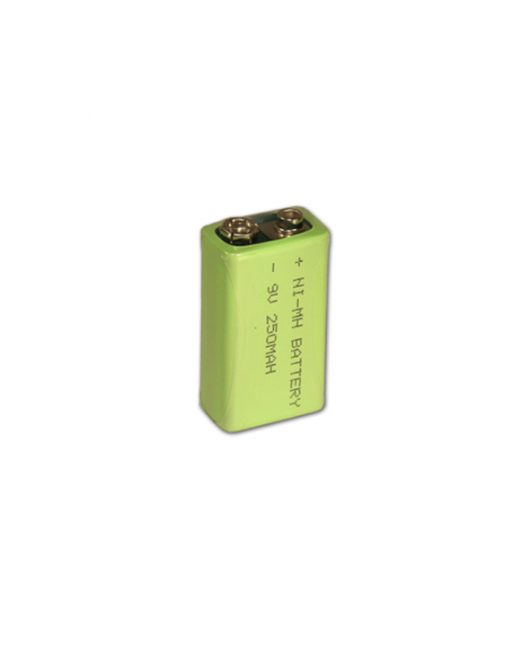 9 Volt Şarj Edilebilir El Tipi Metal Dedektör Bataryası