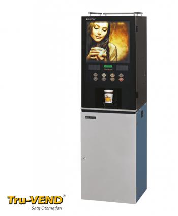 Sıcak İçecek Dispenseri   Mini Black Instant (4 kanister, 3 mikser)