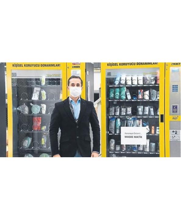 Maskematik - Medikal Otomat - Midi Slimline| Midi Medikal Malzeme Satış Otomatı