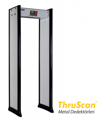 ThruScan® Kapi Tipi Metal Dedektörü YENİ sX-i