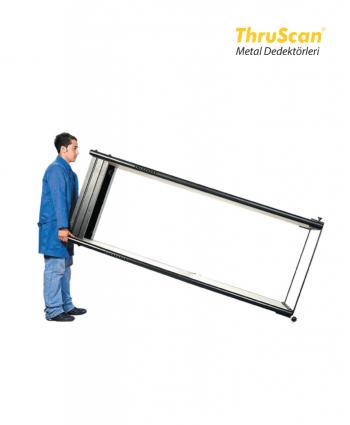 Kapı Tipi Metal Dedektör Tekerlekli Taşıma Arabası